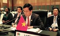 越南外交部副部长何金玉出席亚非各国部长会议