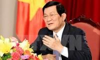 张晋创出席在印度尼西亚召开的亚非领导人会议