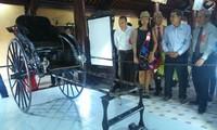 顺化古都遗迹保护中心举行皇太后的会客室展