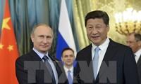 俄罗斯-中国发表有关欧亚经济联盟建设对接合作的联合声明