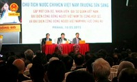越南国家主席张晋创对捷克进行国事访问