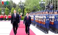 越南国家主席张晋创圆满结束对阿塞拜疆的正式访问