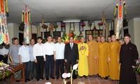 越南党和国家一向尊重并保障人民的宗教信仰自由权
