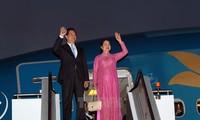 阮晋勇总理在哈萨克斯坦会见越南企业代表