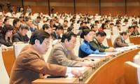 越南国会表决通过2016年国会监督活动计划决议 讨论《费用和手续费法(草案)》