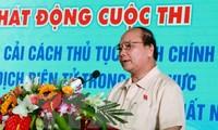 阮春福副总理:为改革社会保险领域行政手续提出创意