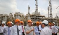越南政府副总理黄忠海出席河北氮肥厂扩建项目落成典礼
