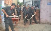 胡志明市举行青年志愿者行动