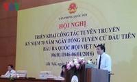 越南第一次普选70周年纪念活动宣传工作启动