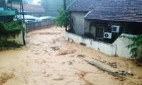 越南广宁省遭受严重洪灾