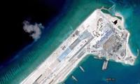 美国对中国加强在东海的填海造岛活动发出警告