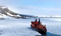 介入北极的角逐