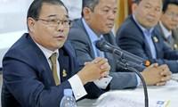柬埔寨首相支持逮捕歪曲柬越边境条约的反对党议员