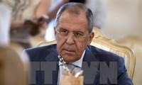 俄外长拉夫罗夫:俄罗斯按俄叙两国协议向叙利亚提供军事装备援助