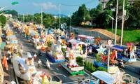 2015年第5次岱依族、侬族、泰族丁琴和滩伦艺术节暨2015年城宣盛会即将举行