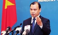 越南就泰国船只驱赶攻击越南渔船做出反应
