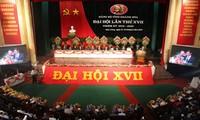 越南军队党代会和庆和省、宁平省党代会隆重开幕