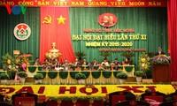 越南共产党领导人出席各省市党代会