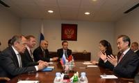 俄罗斯和中国承诺在国际问题上合作