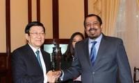 张晋创:越南一向希望与科威特加强多领域友好合作关系