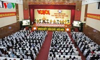 岘港、后江、茶荣、平定和永福等省市举行党代会