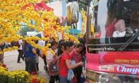 越南青年联合会将举行帮助女青年工人回乡过年活动