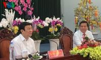 隆安省要利用所有有利条件建设成为富裕省份