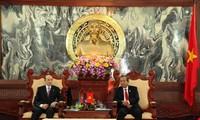 越南最高人民法院院长张和平会见阿塞拜疆司法部长马马多夫