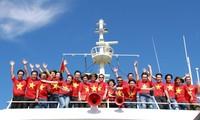 """""""心系亲爱的海洋岛屿志愿者行程""""在平顺省举行"""