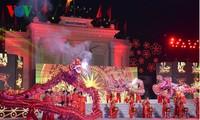 奠边省2016年羊蹄甲节开幕