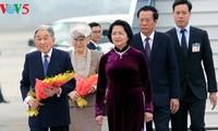 欢迎日本天皇和皇后访越的正式仪式在河内举行