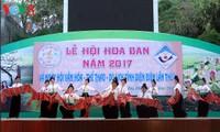 2017年奠边羊蹄甲花节开幕