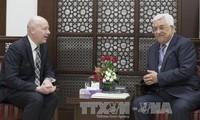 巴勒斯坦总统阿巴斯重申将坚持两国方案