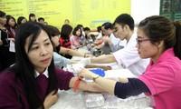 富寿省在春天献血节期间采集到近1000单位血液