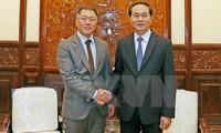 陈大光会见韩国现代集团副董事长郑阳宣