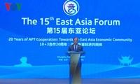 越南与中国共同主持第15届东亚论坛 迈向东亚经济共同体