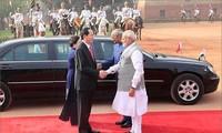 陈大光在印度的访问活动