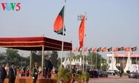 陈大光和夫人开始对孟加拉国进行国事访问