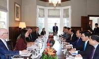 越南和新西兰面向战略伙伴关系