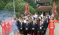 缅怀雄王上香仪式在富寿省举行