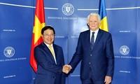 范平明对罗马尼亚进行正式访问