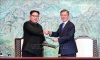 韩朝开始进行高级别对话