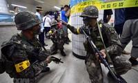 美国不缩减与韩国的联合军演规模