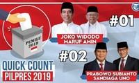 印尼总统大选:现任总统暂时领先