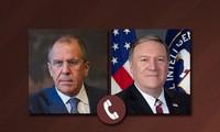 俄美外长就委内瑞拉局势通电话