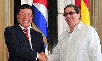 范平明副总理对古巴进行正式访问