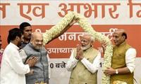 印度议会下院选举:世界各国领导人向印度总理莫迪表示祝贺