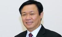 越南政府副总理王庭惠访问缅甸和韩国