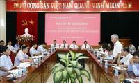 践行胡志明主席遗嘱中的党建内容50周年座谈会举行