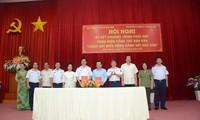"""坚江省配合开展""""海警与渔民同行""""民运工作"""